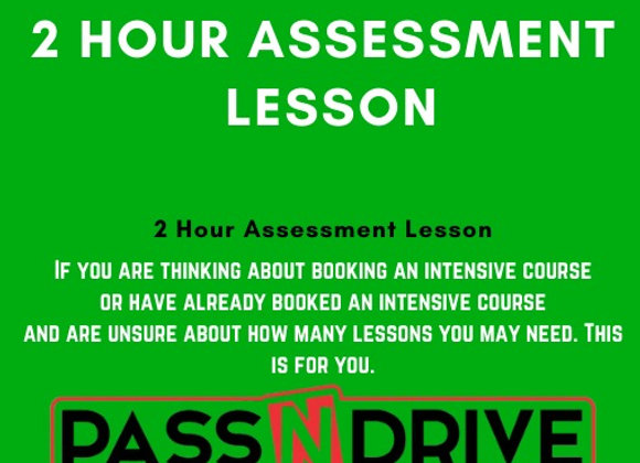Assessment lesson