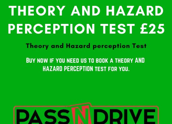 Theory and Harzard PerceptionTest