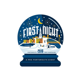 First Night 2019 2nd Place Design