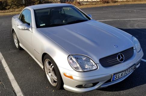 2004 Mercedes SLK32 AMG