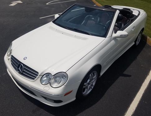 2004 Mercedes CLK55 AMG