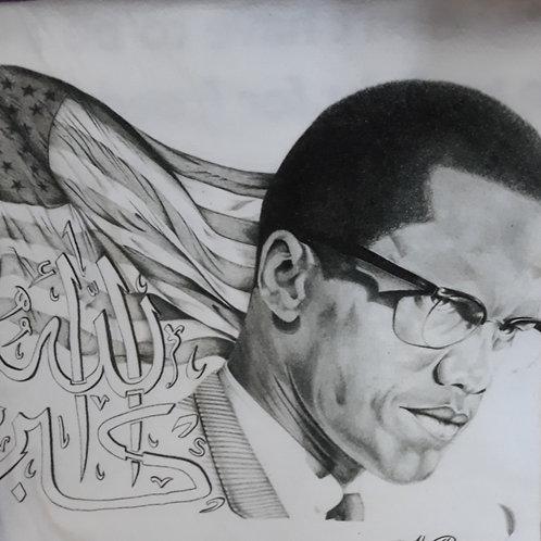 """Malcolm 16""""x 20"""" canvas"""