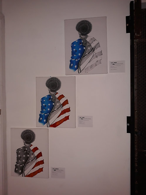 "Cap Series 16"" x 20"" canvas"