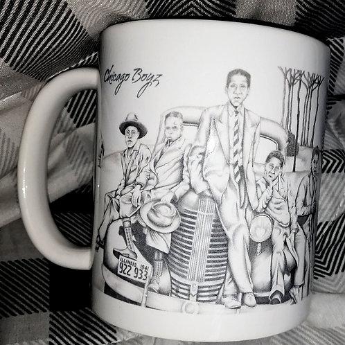 Chicago Boys ceramic mug