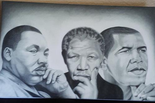 Dreamers Canvas print 9 x 12
