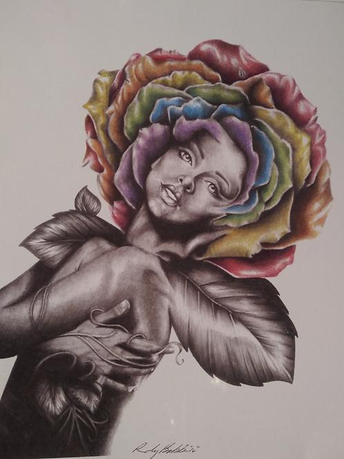 "Pride Rose 16""x20"" canvas"