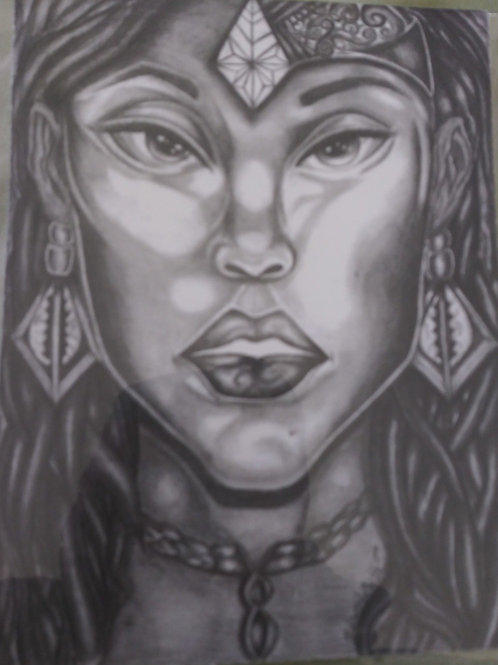 "Goddess 16"" X 20""canvas"