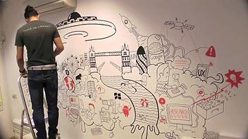 Amberlight wall Illustration
