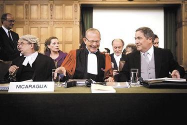 ICJ CIJ Pellet Alain Nicaragua