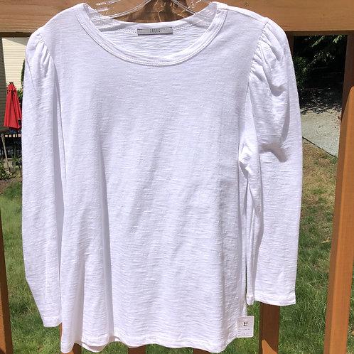 Heathered White Long Sleeve