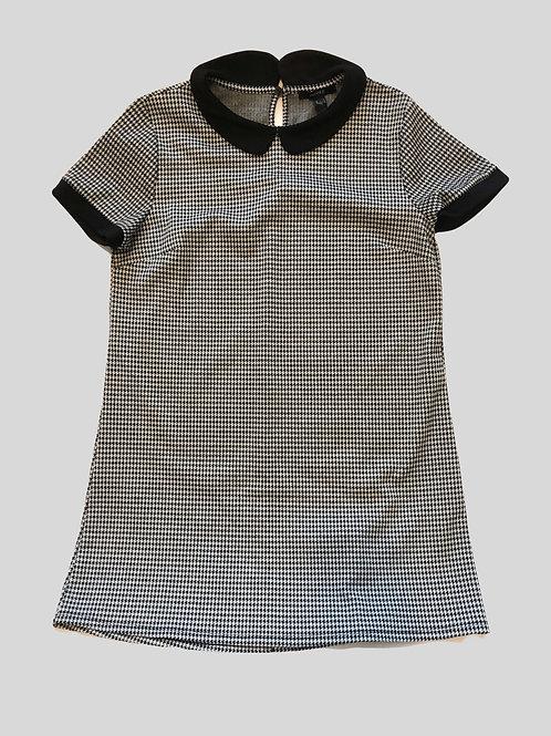 Houndstooth T- Shirt Dress
