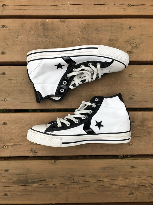 White High Top Shoes