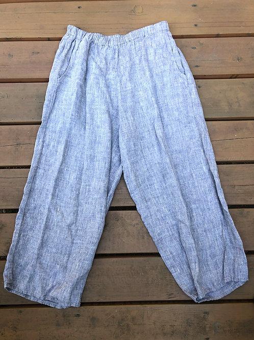 Tan Linen Pants