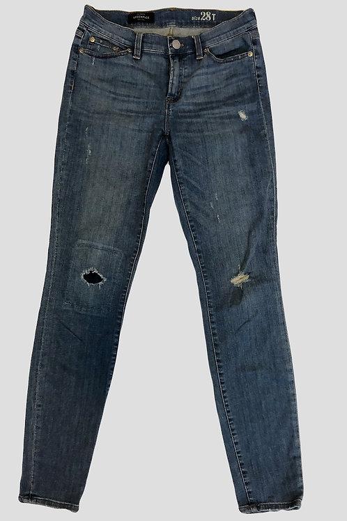 Medium Wash Skinny Jeans