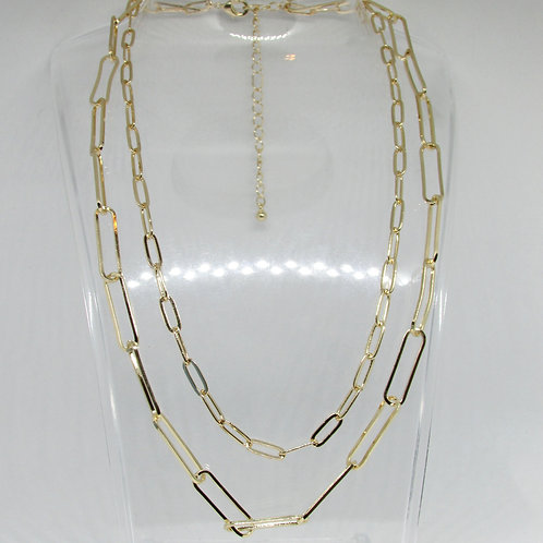Chained Up Layered Necklace