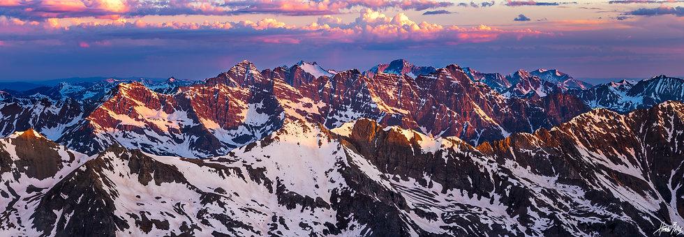 Castle Peak Summit Sunrise
