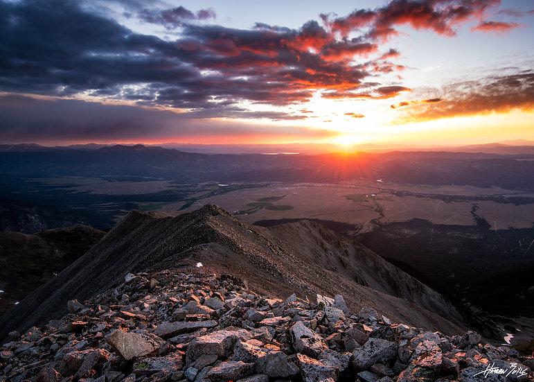 Mount Princeton Summit Sunrise