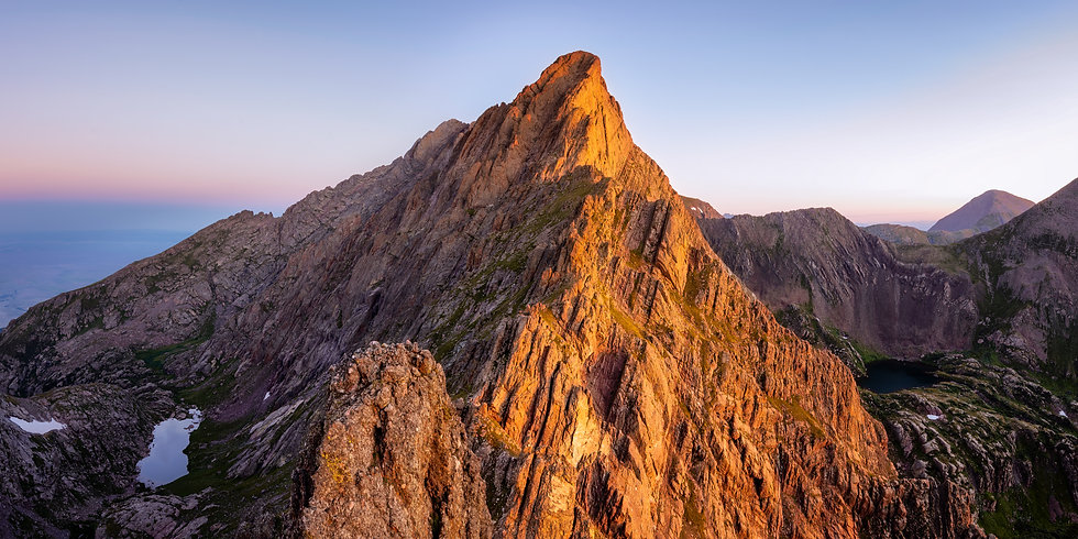 Crestone Needle Sunrise
