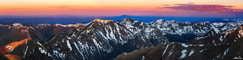Mount Shavano Summit Sunrise