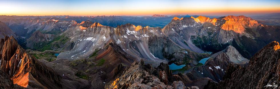 Mount Sneffels Summit Sunrise