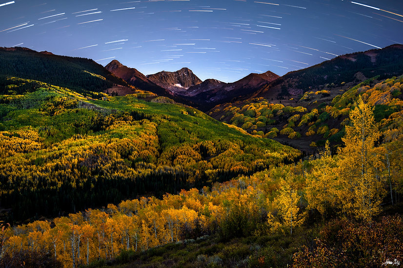 Capitol Peak Star Trails