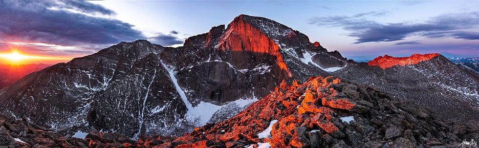 Mount Lady Washington Summit Sunrise