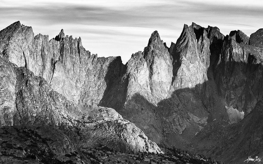 Wind River Range Black and White