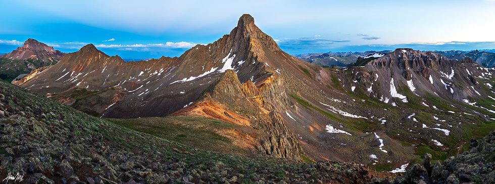 Wetterhorn Ridgeline Dusk