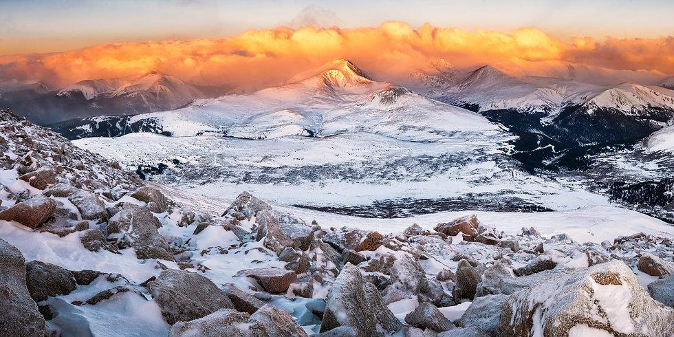 Mount Bierstadt Summit Sunrise