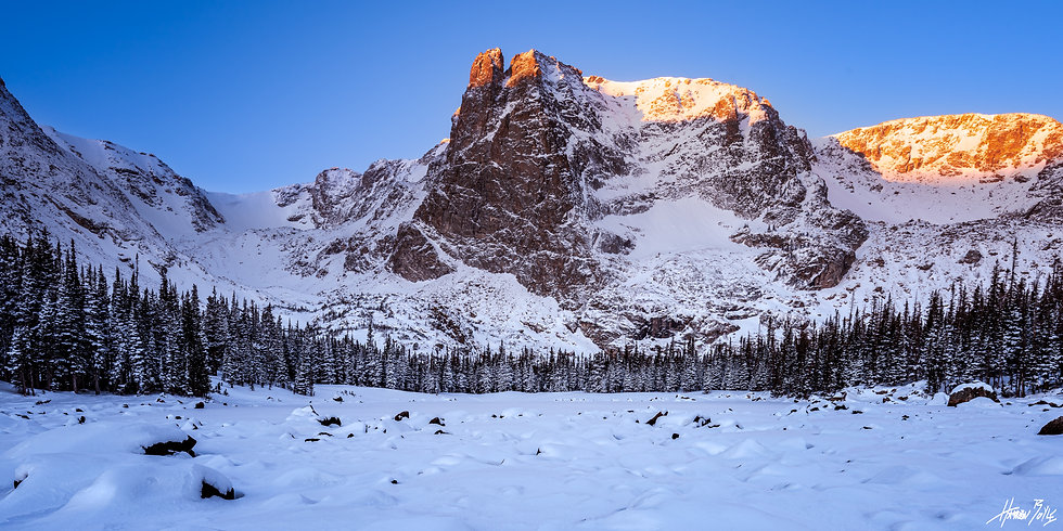 Two Rivers Winter Sunrise
