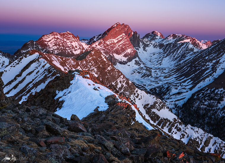 Marble Mountain Sunrise