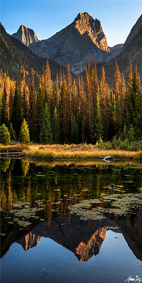 Beaver Ponds Sunset