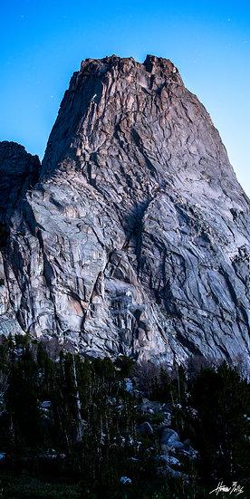 Pingora Peak Dawn Climber