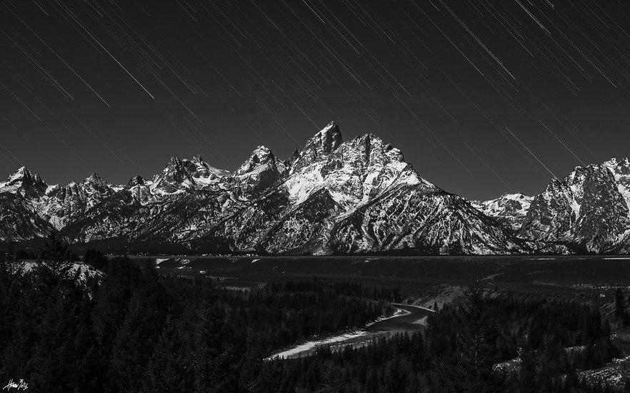 Teton Star Trails