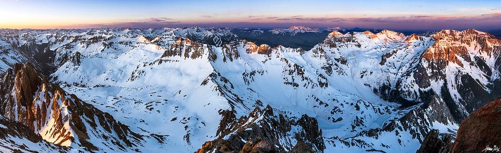 Mount Sneffels Spring Summit Sunrise