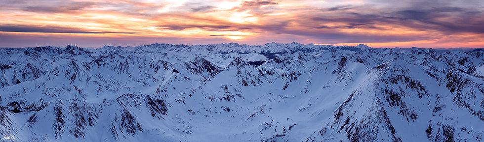 Mount Elbert Summit Sunset