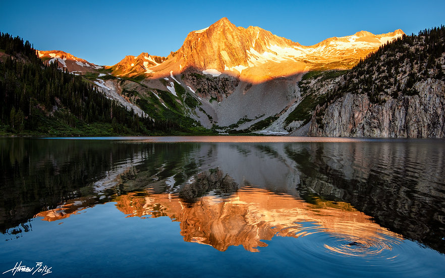 Snowmass Lake Sunrise
