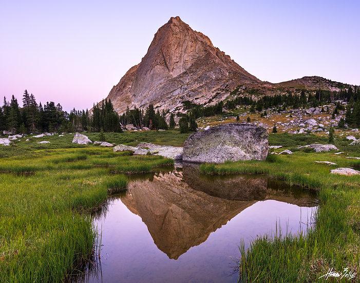Mitchell Peak Sunset