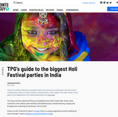 The Points Guy - Guide to the Biggest Holi Festival Parties in India