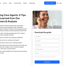 Sprinklr - Coaching Care Agents Guide