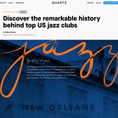 Quartz x Hilton - Discover the Remarkable History Behind Top US Jazz Clubs