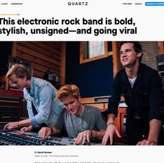 Quartz x David Yurman - This Electronic Rock Band Is Going Viral
