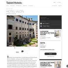 Tablet Hotels - Hotel Vilón