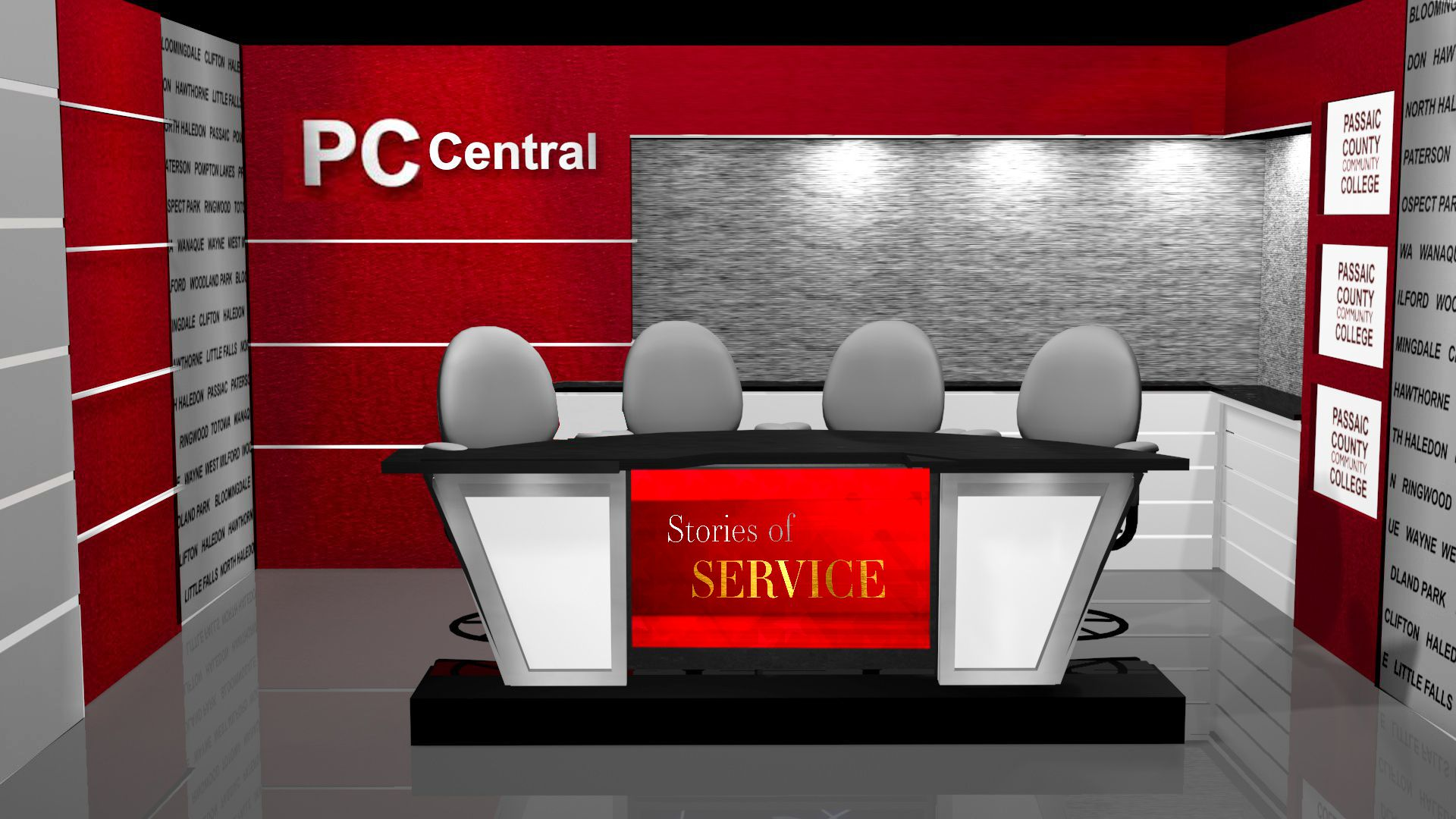 PC Central w Sightlines Desk