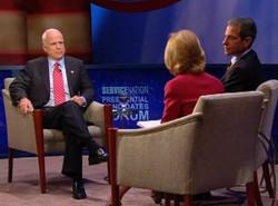 Presidential Forum- McCain