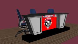 Sightline desk 80