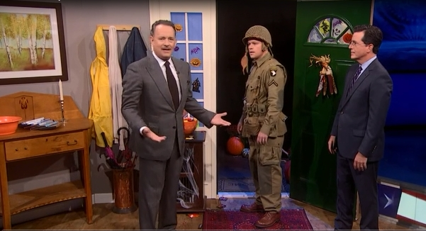 Colbert Hanks Damon