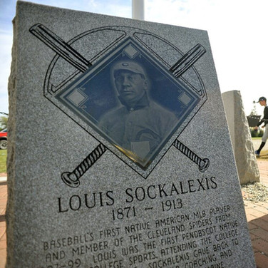 Monument in Central Maine honors Louis Sockalexis, 1st Indigenous baseball player