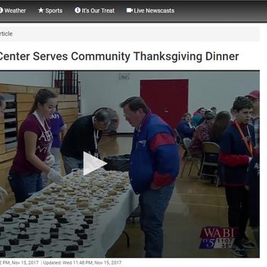 Thanksgiving Community Dinner 2017