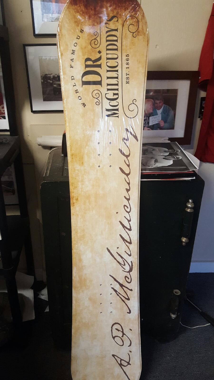 Dr McGillicuddy's Snowboard